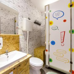 Chillout Hostel Zagreb Кровать в общем номере с двухъярусной кроватью фото 27