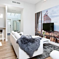 Отель Avenue A1 Улучшенные апартаменты с различными типами кроватей фото 25