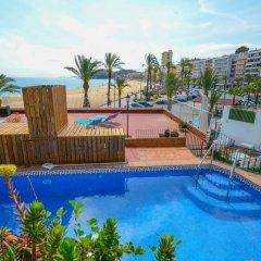 Отель Villa Sa Caleta Испания, Льорет-де-Мар - отзывы, цены и фото номеров - забронировать отель Villa Sa Caleta онлайн бассейн фото 2