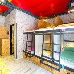 Chillout Hostel Zagreb Кровать в общем номере с двухъярусной кроватью фото 42