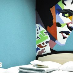 Happy hostel Номер Эконом с разными типами кроватей фото 4