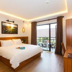 Отель Riverside Impression Homestay Villa 3* Стандартный номер с различными типами кроватей фото 3