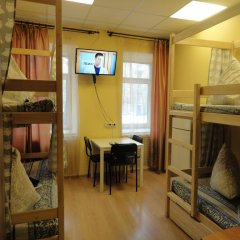 Люси-Отель Кровать в мужском общем номере с двухъярусной кроватью фото 8