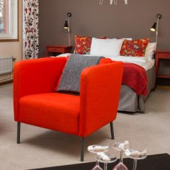 Отель Hotell Fridhemsgatan 3* Стандартный семейный номер с различными типами кроватей фото 12