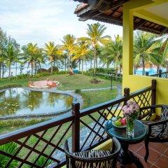 Отель Agribank Hoi An Beach Resort 3* Номер Делюкс с различными типами кроватей фото 8