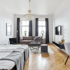 Отель Hotell Onyxen 3* Улучшенный номер с 2 отдельными кроватями фото 6