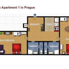 Апартаменты Vltava Apartments Prague интерьер отеля