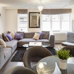 Апартаменты City Marque Knightsbridge Serviced Apartments Лондон комната для гостей фото 5