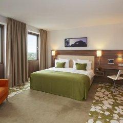 Отель Meliá Düsseldorf 4* Люкс разные типы кроватей фото 6