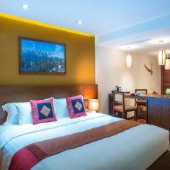 U Sapa Hotel 4* Улучшенный номер с различными типами кроватей фото 3