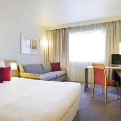 Отель Novotel Chateau de Maffliers 4* Улучшенный номер с различными типами кроватей фото 2