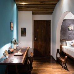 Отель The Myst Dong Khoi 5* Стандартный номер с различными типами кроватей фото 16