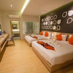 Platinum Hotel 3* Улучшенные апартаменты разные типы кроватей фото 3