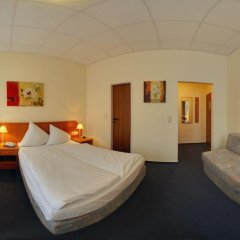 Hotel Lumen am Hauptbahnhof 3* Стандартный номер разные типы кроватей фото 5