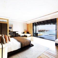 Отель Adaaran Prestige Vadoo 5* Вилла с различными типами кроватей фото 11