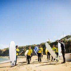 Hostel & Surfcamp 55 пляж