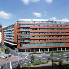 Отель NH Collection Frankfurt City 4* Улучшенный номер с различными типами кроватей фото 11