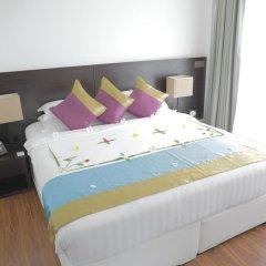 Отель Plumeria Maldives 4* Номер Делюкс с различными типами кроватей фото 8