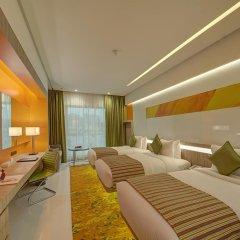 Al Khoory Atrium Hotel 4* Номер Делюкс с различными типами кроватей фото 4