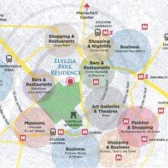 Отель Elvezia Park Residence Италия, Милан - отзывы, цены и фото номеров - забронировать отель Elvezia Park Residence онлайн городской автобус