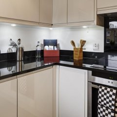 Апартаменты City Marque Knightsbridge Serviced Apartments Лондон питание