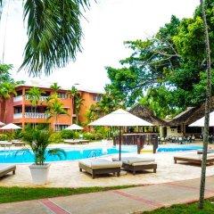 Отель Gusto Tropical Dependance Доминикана, Бока Чика - отзывы, цены и фото номеров - забронировать отель Gusto Tropical Dependance онлайн бассейн фото 3