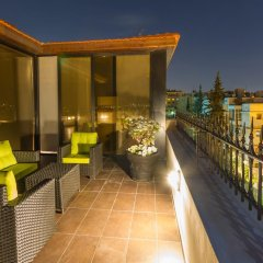 Nadine Boutique Hotel балкон