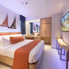 Отель Deep Blue Z10 Pattaya Стандартный номер с различными типами кроватей фото 8
