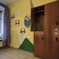 Кино Хостел на Пушкинской Кровать в общем номере с двухъярусными кроватями фото 3
