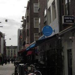 Amsterdam Hostel Uptown городской автобус