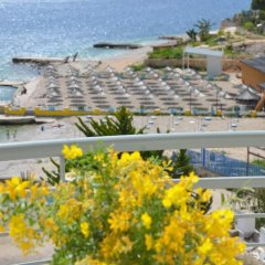 Epirus Hotel Саранда пляж фото 2