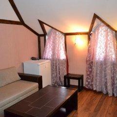 Gnezdo Gluharya Hotel Люкс с различными типами кроватей фото 7