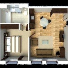 Апартаменты Senator City Center Улучшенный номер с различными типами кроватей фото 21