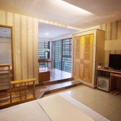 Thuy Sakura Hotel & Serviced Apartment 3* Люкс с различными типами кроватей фото 6