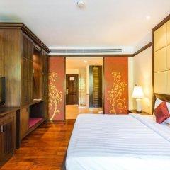 Отель Duangjitt Resort, Phuket 5* Номер Делюкс с двуспальной кроватью фото 5