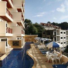 Отель Jiraporn Hill Resort балкон