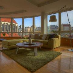 Апартаменты Franciscan Garden Apartments Прага бассейн