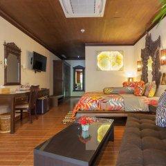 Отель Tropica Bungalow Resort 3* Номер Делюкс с различными типами кроватей фото 2
