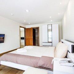 Апартаменты Pratumnak Hill Apartment 1 Bedroom Паттайя комната для гостей
