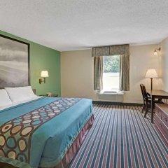 Отель Super 8 Kings Mountain Южный Бельмонт комната для гостей фото 2