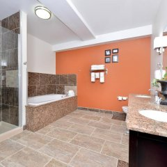 Отель Sleep Inn & Suites And Conference Center ванная