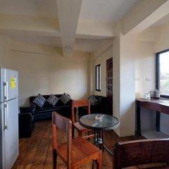Kiwi Hotel 3* Улучшенные апартаменты с различными типами кроватей фото 2