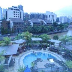Отель Robertson Quay Hotel Сингапур, Сингапур - отзывы, цены и фото номеров - забронировать отель Robertson Quay Hotel онлайн бассейн фото 3