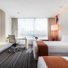 Grand Mercure Shanghai Century Park Hotel 4* Улучшенный номер с различными типами кроватей фото 3