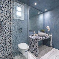 Отель Santorini Kastelli Resort 5* Улучшенный номер с различными типами кроватей фото 16