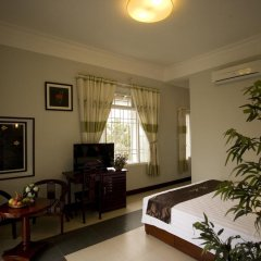 Отель The Moon Villa Hoi An 2* Номер Делюкс с различными типами кроватей фото 13