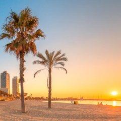 Отель SB Icaria barcelona Испания, Барселона - 8 отзывов об отеле, цены и фото номеров - забронировать отель SB Icaria barcelona онлайн пляж