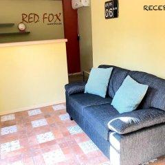 Отель Red Fox Guesthouse Стандартный номер с различными типами кроватей фото 2