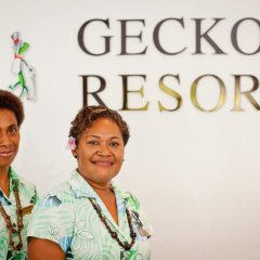 Отель Geckos Resort спортивное сооружение