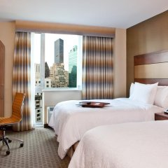 Отель Hampton Inn Manhattan Grand Central 3* Стандартный номер с 2 отдельными кроватями фото 2